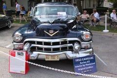 1953 Cadillac-Reeks 62 4 DR Royalty-vrije Stock Afbeeldingen
