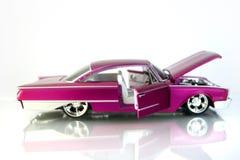Cadillac rosado Foto de archivo libre de regalías