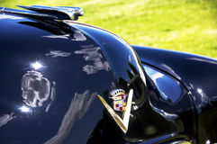 Cadillac, 1950's. A 1950's Cadallic at a classic car show. July 2011 Royalty Free Stock Photos