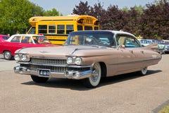 1959 Cadillac Sedan de Ville Στοκ Εικόνα