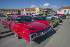 1961 Cadillac Series 62 6-window sedan Royalty Free Stock Photos