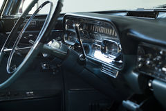 Cadillac Sixty Special Fleetwood dashboard Royalty Free Stock Photo