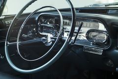 Cadillac Sixty Special Fleetwood steering wheel Stock Photography