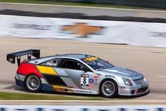 Cadillac som springer den Detoit granda prixen 2013 Arkivfoto