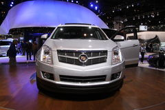 Cadillac SRX. Chicago auto show February 2011 Royalty Free Stock Image
