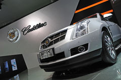Cadillac SRX ROUTE 66 SUV Stock Image