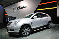 Cadillac SRX ROUTE 66 SUV Stock Photo
