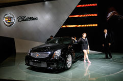 Cadillac sur CDMS 2012 Images stock