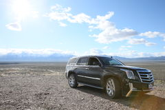 Cadillac suv Escalade. Car suv auto Cadillac Escalade Stock Image