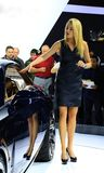 Cadillac and unveiled at NAIAS Stock Photography