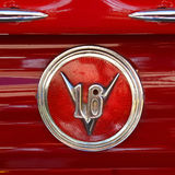 Cadillac V16 Classic Art-Deco Trunk Badge Royalty Free Stock Images