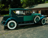 1929 Cadillac V8. Stock Images