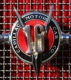 Cadillac V16 Hood Badge Stock Photo