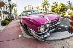 Cadillac Vintage car parked at Royalty Free Stock Photography