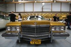 Cadillac visade på den 3rd upplagan av MOTO-SHOWEN i Cracow Arkivbild