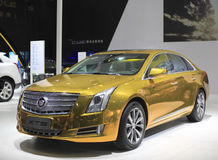The cadillac xts car Stock Images