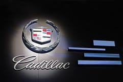 Cadillac-Zeichen Lizenzfreie Stockfotos