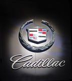 Cadillac-Zeichen Stockbild