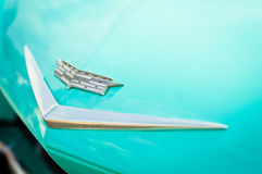 Cadillac-Zeichen Stockfotos