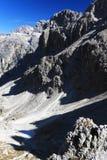 Cadini di Misurina. The Dolomites, Italy Royalty Free Stock Photo
