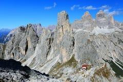 Cadini di Misurina. The Dolomites, Italy Royalty Free Stock Image