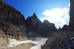 Cadini di Misurina. The Dolomites, Italy Stock Photo