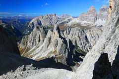 Cadini di Misurina. The Dolomites, Italy Stock Images