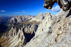 Cadini di Misurina Royalty Free Stock Images