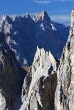 Cadini di Misurina. In the Dolomites, Italy Royalty Free Stock Image