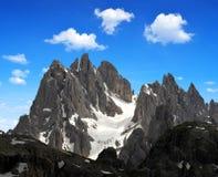 Cadini di Misurina. Dolomite Alps,Italy Royalty Free Stock Photos