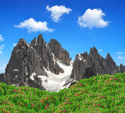 Cadini di Misurina Royalty Free Stock Photo