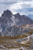 Cadini di Misurina range in Dolomites, Italy Royalty Free Stock Photography