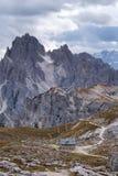 Cadini di Misurina range in Dolomites, Italy. Cadini di Misurina range in National Park Tre Cime di Lavaredo. Dolomites, South Tyrol. Italy, Europe Royalty Free Stock Photography