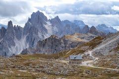 Cadini di Misurina range in Dolomites, Italy. Cadini di Misurina range in National Park Tre Cime di Lavaredo. Dolomites, South Tyrol. Italy, Europe Royalty Free Stock Photos