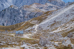 Cadini di Misurina range in Dolomites, Italy Royalty Free Stock Photo