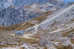 Cadini di Misurina range in Dolomites, Italy. Cadini di Misurina range in National Park Tre Cime di Lavaredo. Dolomites, South Tyrol. Italy, Europe Royalty Free Stock Photo