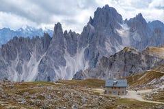 Cadini di Misurina range in Dolomites, Italy Royalty Free Stock Image