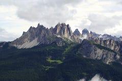 Cadini di Misurina. View of Cadini di Misurina, in the Italian Dolomites Stock Photos