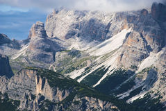 Cadini Group in Dolomites, Italy Royalty Free Stock Photography