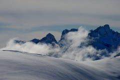 Cadini osiąga szczyt południowego Tyrol Italy obraz stock