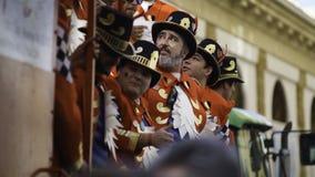 Cadix, Andalousie, Espagne ; Le 12 février 2018 : Célébration de carnaval de Cadix Photos stock