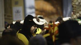 Cadix, Andalousie, Espagne ; Le 12 février 2018 : Célébration de carnaval de Cadix Photographie stock