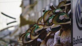 Cadix, Andalousie, Espagne ; Le 12 février 2018 : Célébration de carnaval de Cadix Images stock