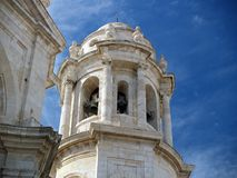 Cadix - cathédrale à Cadix. Photos libres de droits