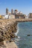 Cadix en Espagne occidentale du sud Photos libres de droits