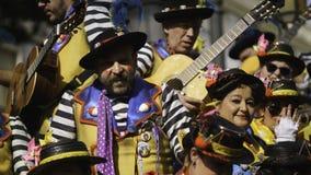 Cadiz, Andalusia, Spain; February 12 2018: Cadiz Carnival Celebration Stock Images