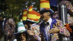 Cadiz, Andalusia, Spain; February 12 2018: Cadiz Carnival Celebration Royalty Free Stock Photography