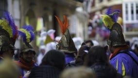 Cadiz, a Andaluzia, Espanha; 12 de fevereiro de 2018: Celebração do carnaval de Cadiz Foto de Stock