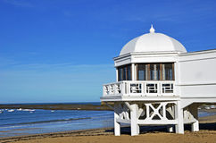 Cadiz beach. In Andalusia, spain Royalty Free Stock Image