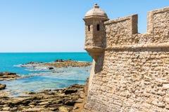 On the Cadiz beach stock photo